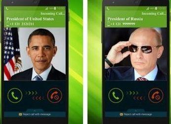 Faux appels téléphoniques