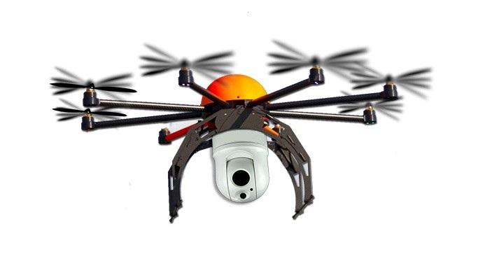 drone vision thermique